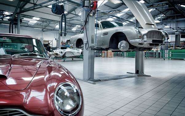Aston Martin Factory Tour Friday 8th September 14 30 15 30 Newport Pagnell