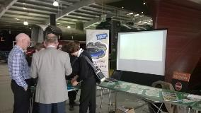 IMechE stall at 'Locomotion' at Shildon 20th March 2014
