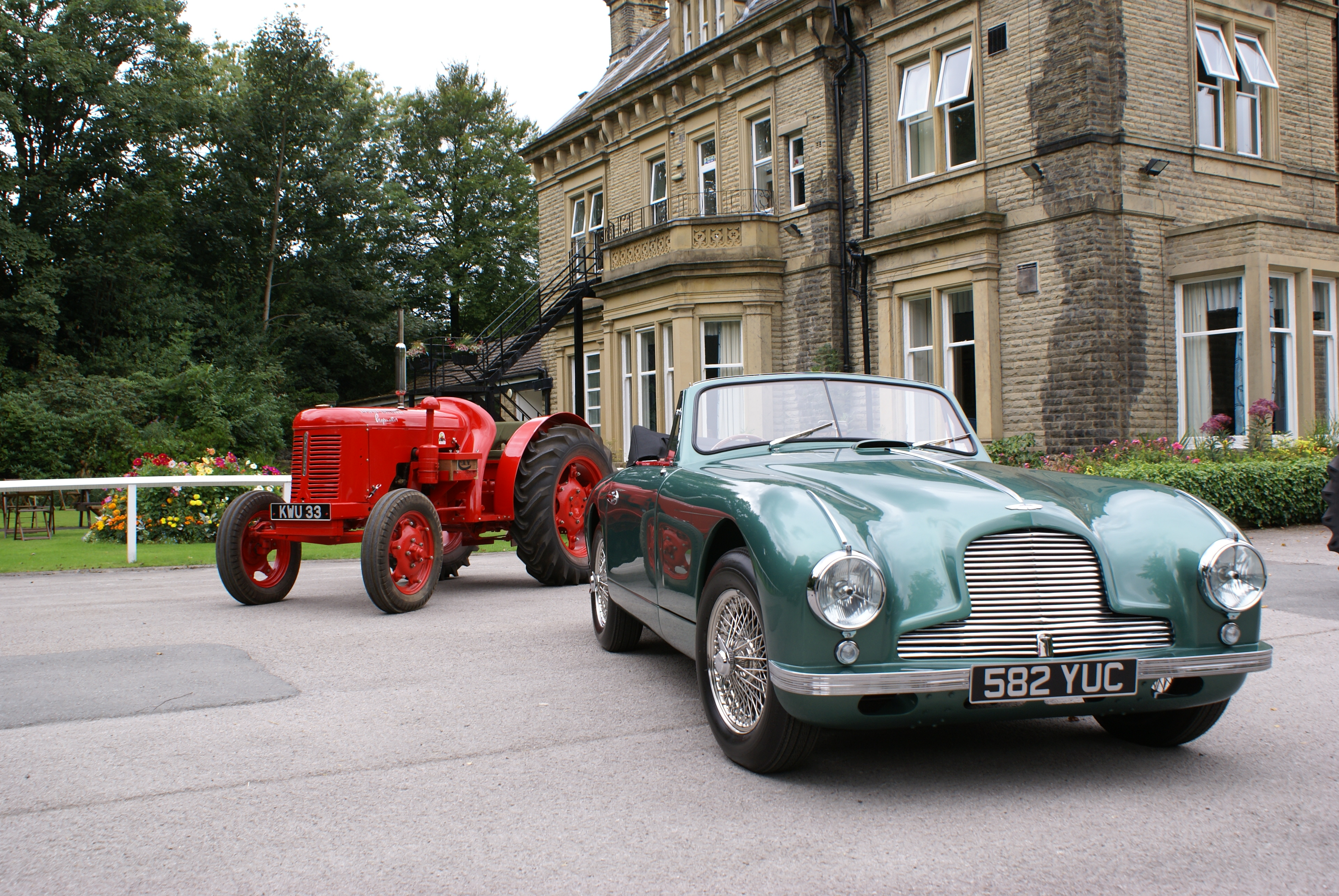 Tractors And Sportscars Classic Vehicle Social At David Brown Tractor Club Museum
