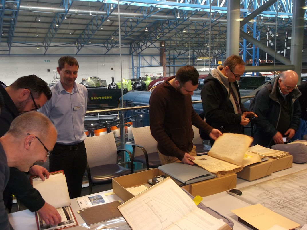 viewing archive material in the NRM