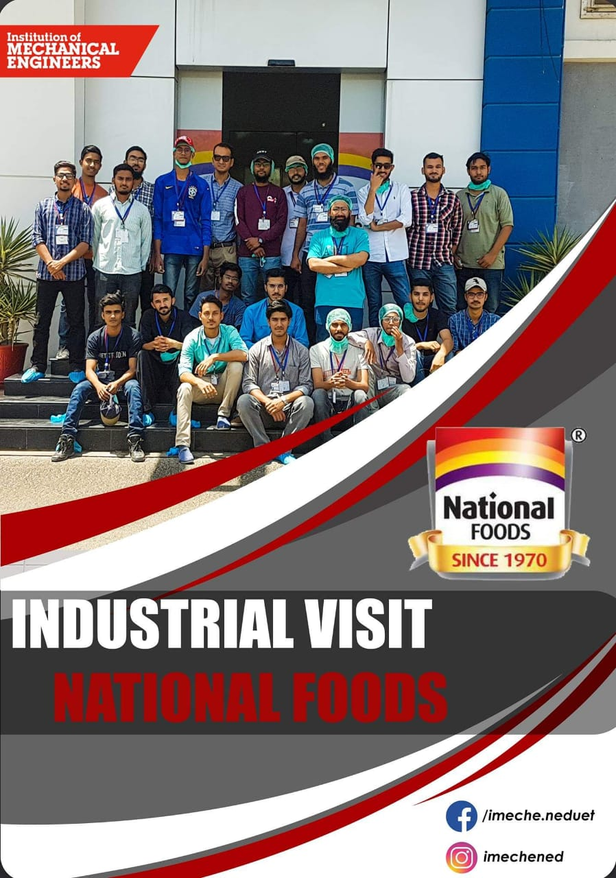 Industrial Visit with IMechE NED to National Foods Limited